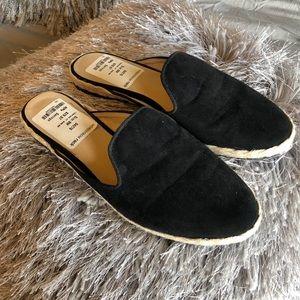 Black Zigi Soho Slides Mules Flats Backless 8